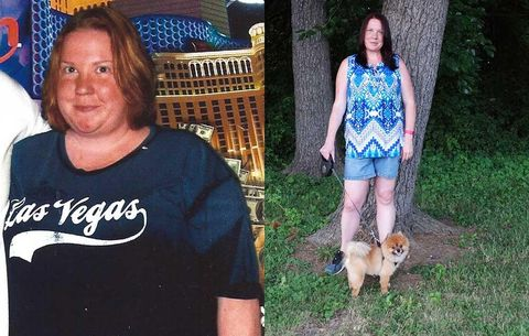 How Walking 10,000 Steps a Day Helped This Woman Lose Nearly 100 Pounds