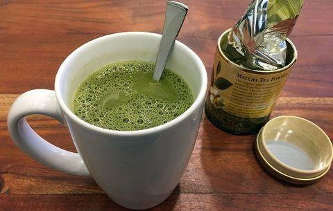 matcha latte para adelgazar