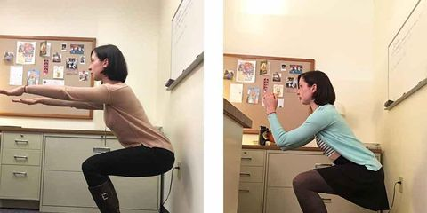 I Took Squat Breaks At Work Every Day For A Month, And Here's What Happe