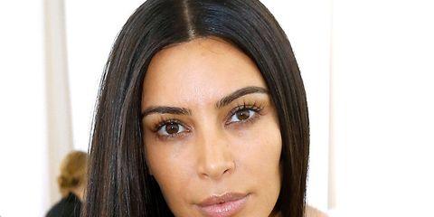 kim kardashian psoriasis face stress