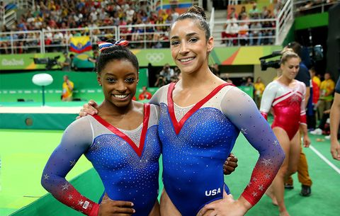 6b6331aa4b Simone Biles and Aly Raisman Star in Sports Illustrated's Swimsuit ...