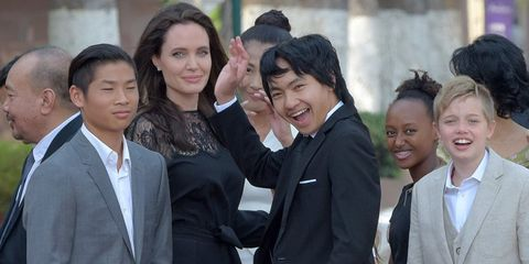 angelina jolie kids eat insects and crickets