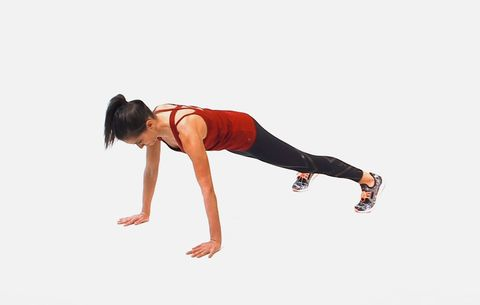 This Super Simple Plank Variation Will Get You Rock-Solid Arms And Abs