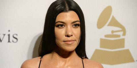 kourtney kardashian daughter lip ring