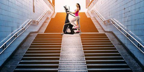 stair stepper workout