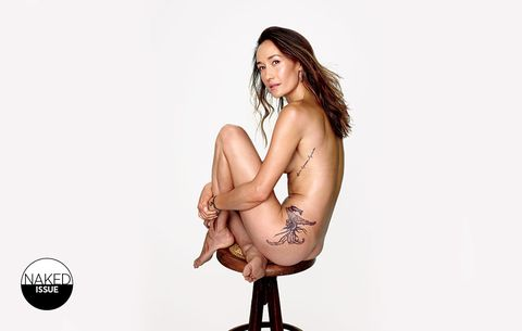 Maggie Q Naked Issue