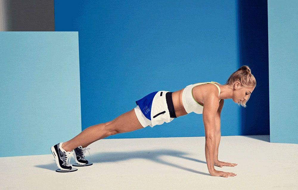 This Mountain Climber Variation Burns Fat And Sculpts Muscle All At Once