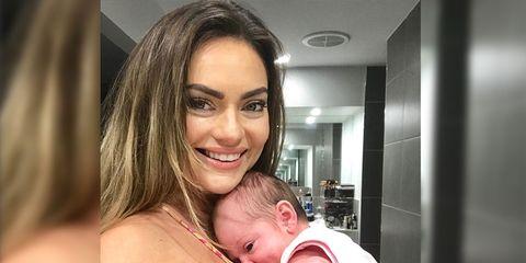 Emily Skye postpartum body