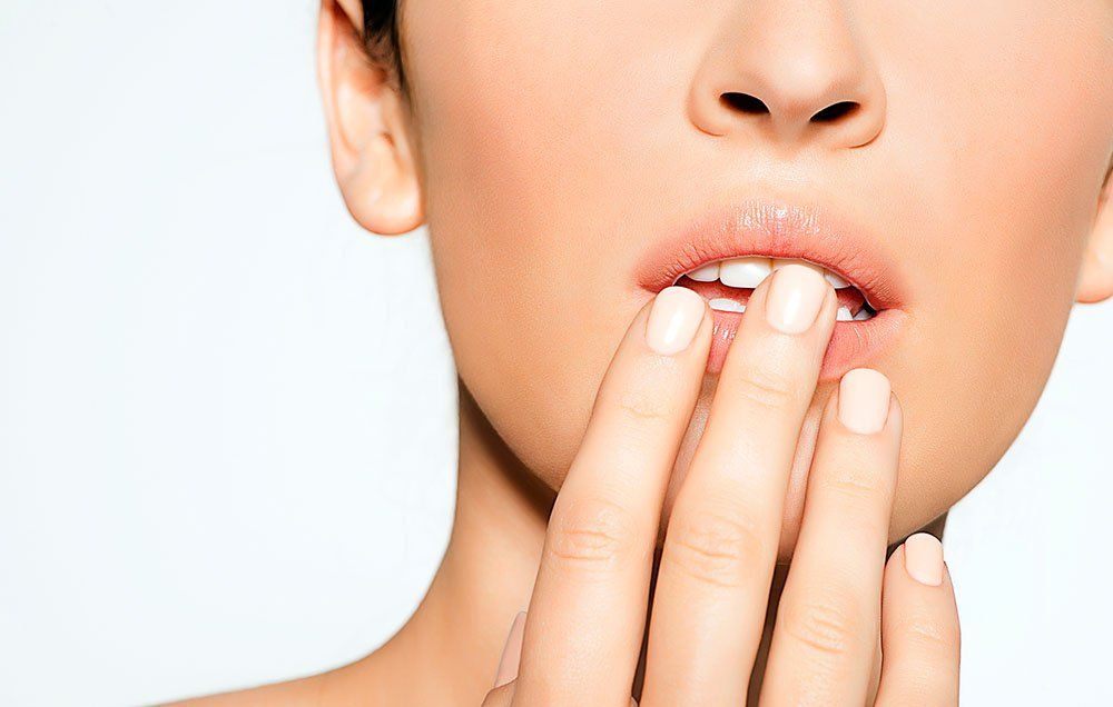 Cold Sore Or Pimple? - Cold Sores On Lips | Women's Health