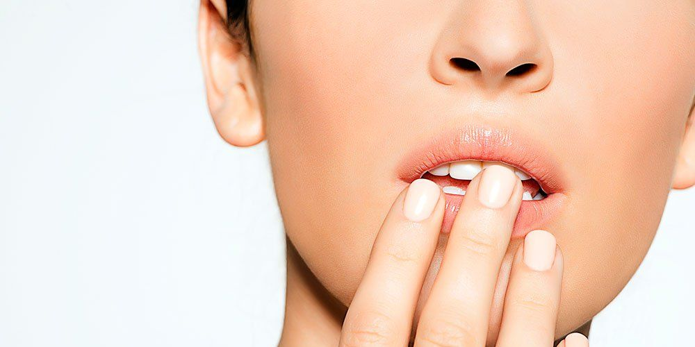 Cold Sore Or Pimple Cold Sores On Lips Women S Health