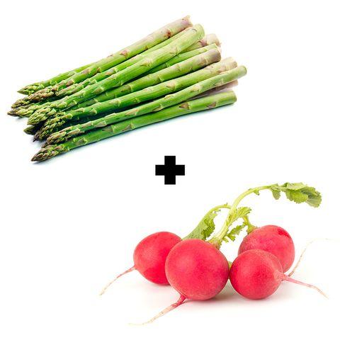 Asparagus + Radish