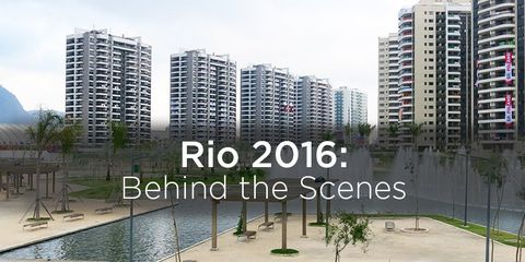 The Rio Olympic Village