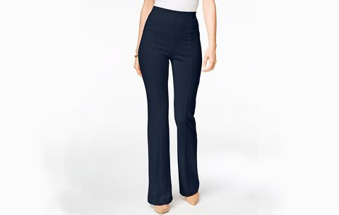 a6ec21f7e3819f INC International Concepts High-Waist Curvy-Fit Bootcut Pants