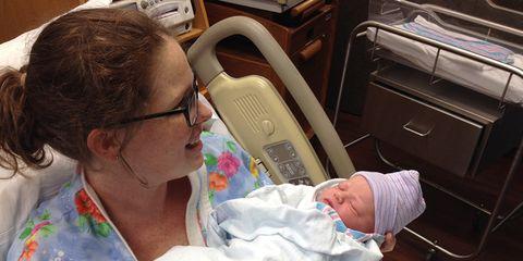 Krystyn Hall birth story