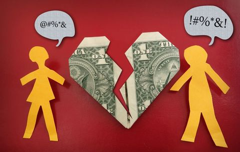 This Is How Much Going Through a Breakup Costs | Women's Health
