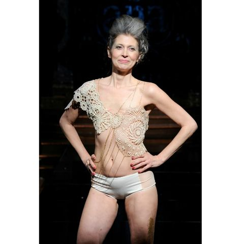 You Have To See These Amazing Breast Cancer Survivors Walk Topless At NY Fashion Week