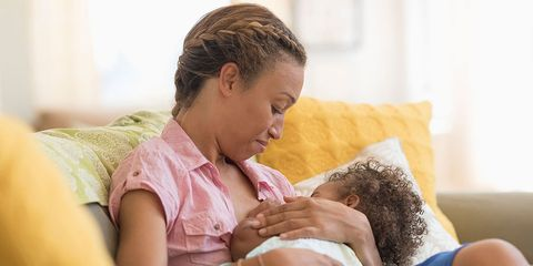 Your body on breastfeeding