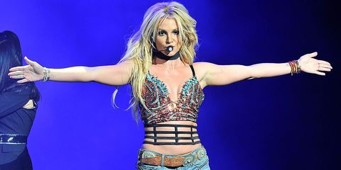 Britney Spears workout montage