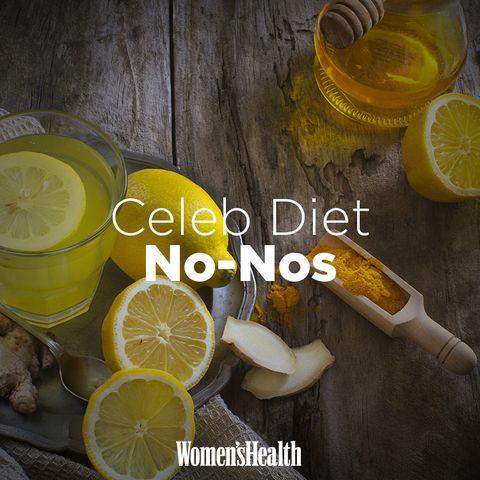 terrible celebrity diets