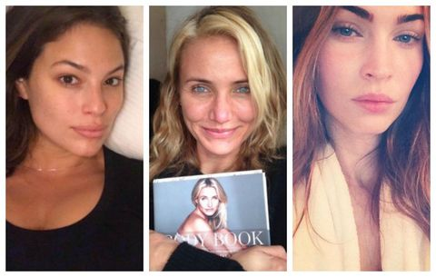 What 17 Celebs Look Like Without Makeup