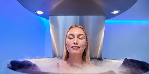 Cryotherapy weight loss