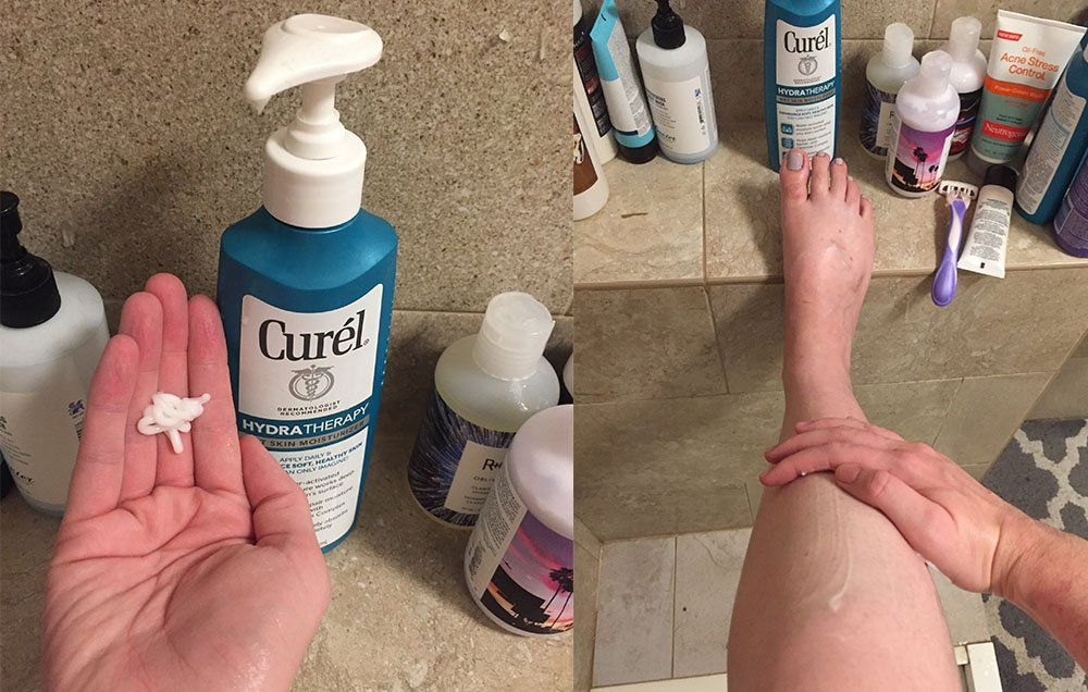 'I Was Skeptical Of In-Shower Moisturizers Until I Actually Tried One'