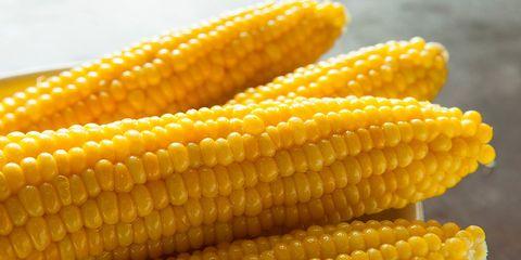 Fresh yellow corn nutrition