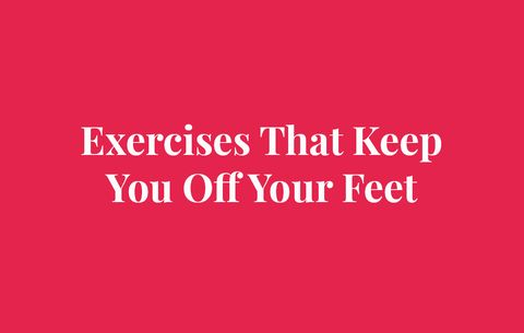Exercises That Keep You Off Your Feet