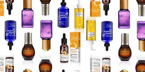 face oils test argan oil coconut oil