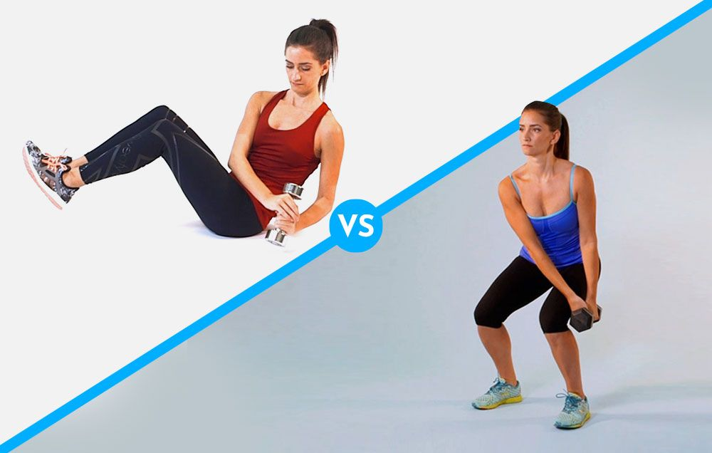 What's Better For Your Obliques: Weighted Russian Twists Or Dumbbell Chops?