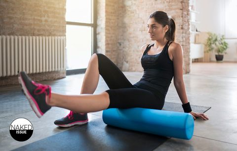 'Why I Love Foam Rolling In The Nude'