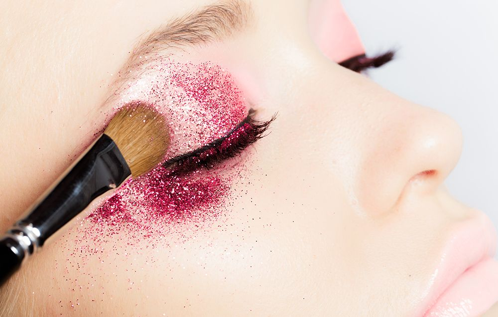 Glitter Makeup Tips Womens Health