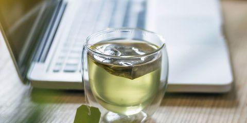 Green tea instead of coffee