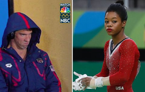 If Michael Phelps Can Make This Face, Why Can't Gabby Douglas Make This One?