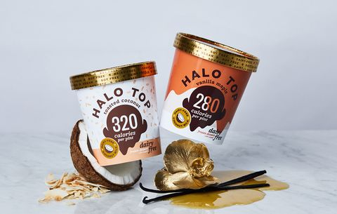 Halo Top Dairy Free Toasted Coconut And Vanilla Maple