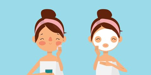 skin care products results