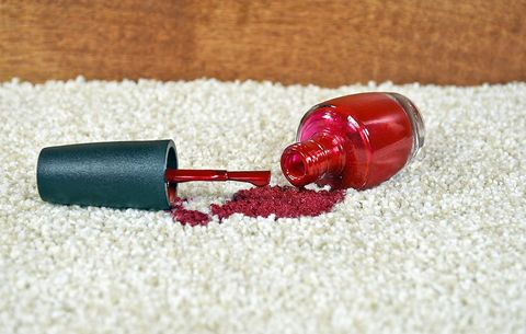 How To Remove Nail Polish From Carpet Fabric And Floors Women S