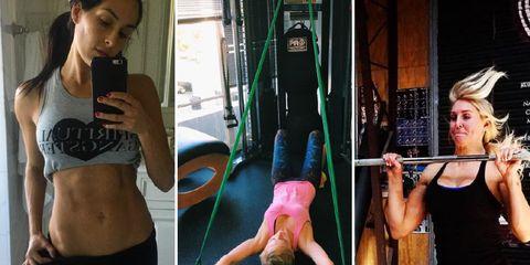 WWE star fitness
