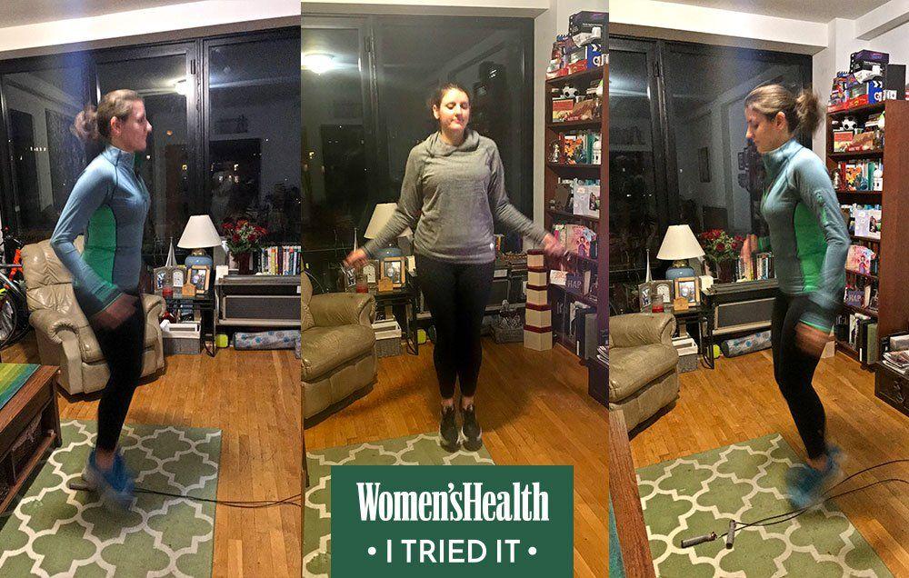 Jump Rope Workout Challenge Women S Health