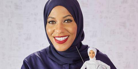 ibtihaj muhammad barbie hijab glamour woman of the year 2017