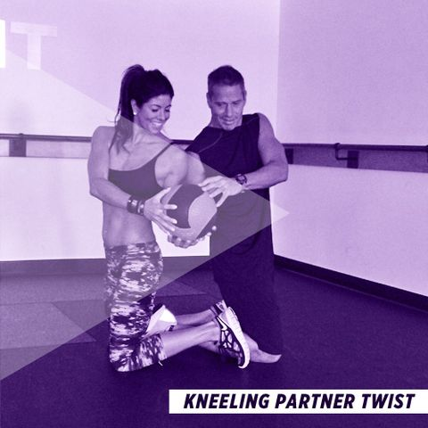 Kneeling Partner Twist