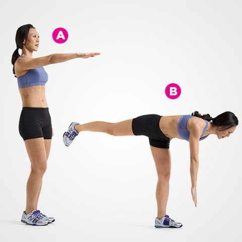 Single-Leg, Single-Arm Reach