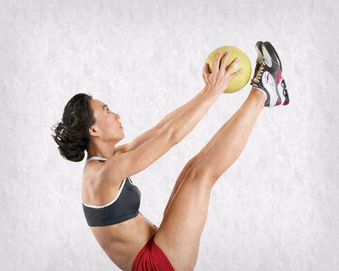 Weekend Challenge: Medicine Ball V-Up