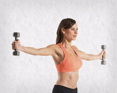 Weekend Challenge: Lateral Raise