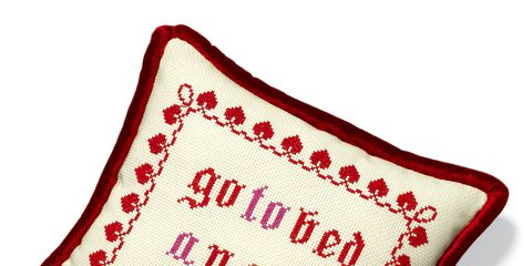 Marriage Advice: Needlepoint Pillow