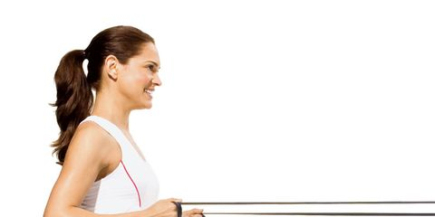 Workout Routine: Stretchy Exercise Bands