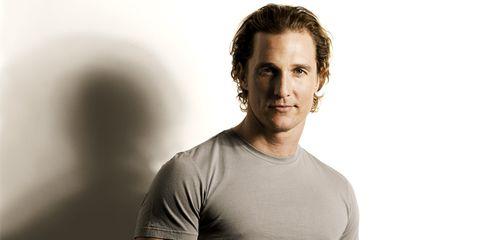 Men's Health cover guy: Matthew McConaughey