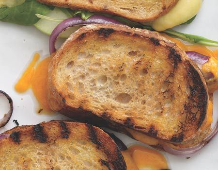 Grown-up Grilled Cheese Sandwiches