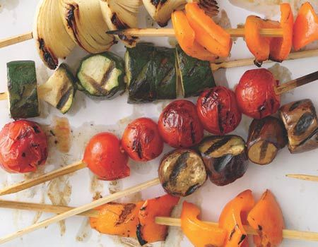 Sweet Veggie Skewers