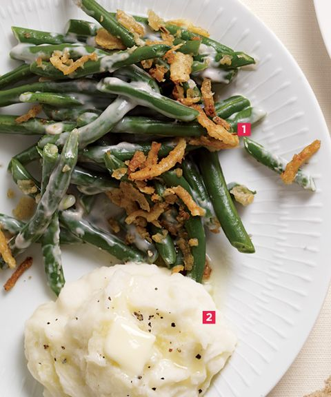Green Beans & Mashed Potatoes